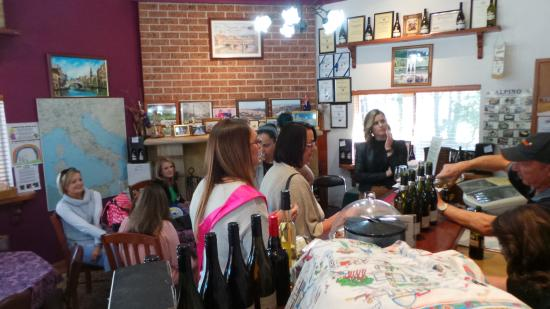 The Grape Escape: Choosing WIne for lunch