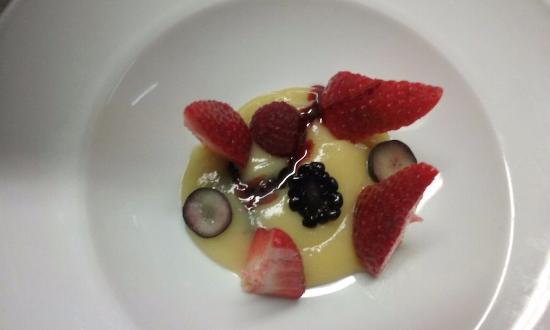 L'Anima De Granollers: Cremós de fruit de la passió amb fruits vermells