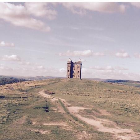 Disley, UK: Lyme park and the cage