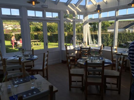 The Strand Bistro : The conservatory