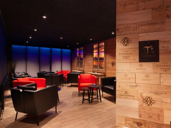 Seeblick Hohenhotel: Hotelbar - Lounge