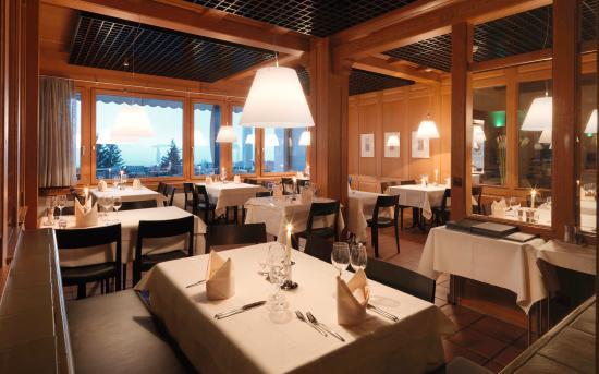 Seeblick Hohenhotel: Restaurant - Emmetterstube