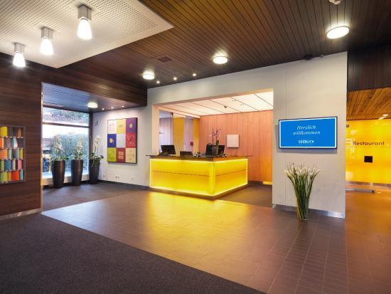 Seeblick Hohenhotel: Lobby