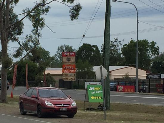 Fernvale, Australië: Eagle Boys Pizza
