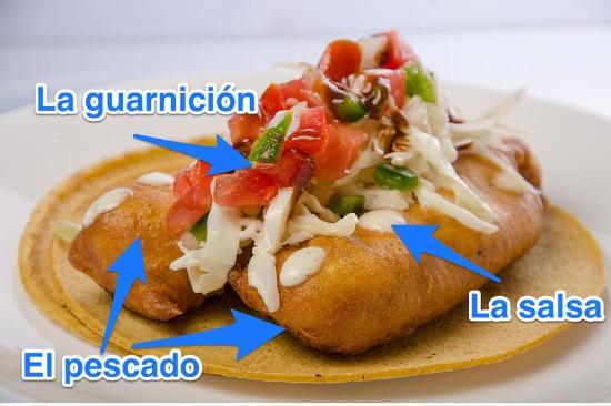 Los de Pescado Playa Del Carmen: Taco de pescado