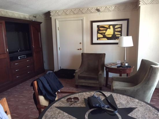Players Suite Living Area Picture Of New York New York Hotel And
