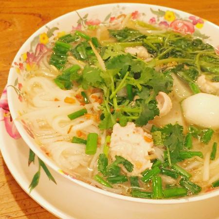 Tit-chai thaifood restaurant: thai ricenoodle soup