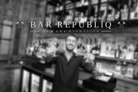 Bar Republiq: we got wide range of spirits and bubbles to suit everyones taste