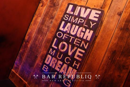 Bar Republiq: so true!
