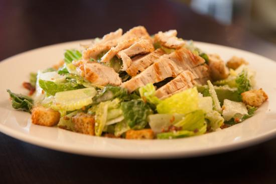 Symposium Cafe Restaurant & Lounge: Caesar salad
