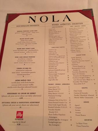 Nola Restaurant: photo2.jpg