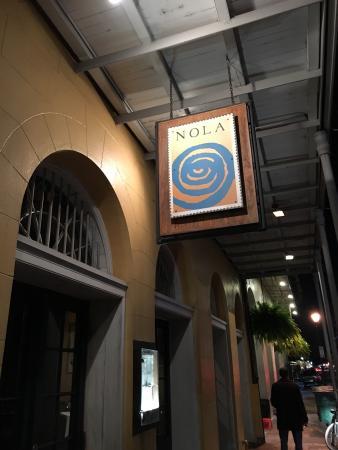 Nola Restaurant: NOLA dinner