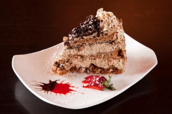 Symposium Cafe Restaurant & Lounge: Mocha crunch cake slice