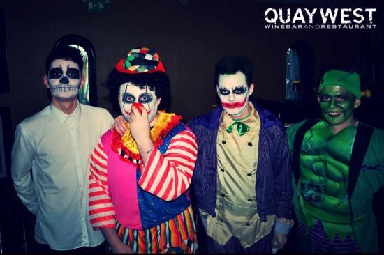 QUAYWEST: Our staff @ halloween