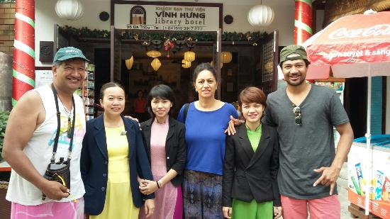Vinh Hung Library Hotel Photo