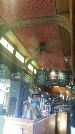 The Train Cars Coffee and Yogurt: Well preserved Pullman
