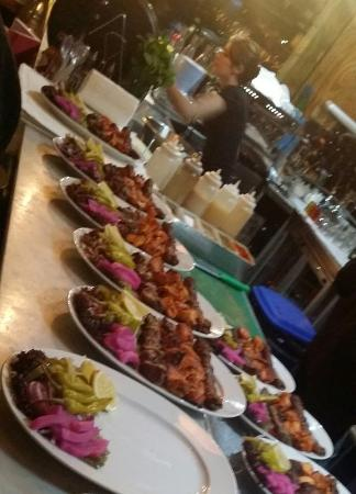 Byblos Harbour: Catering for parties