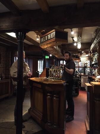The Old Wellington: Inside the pub