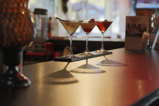 Symposium Cafe Restaurant & Lounge: Martini collage