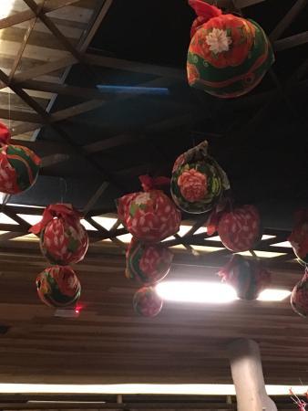 Mangai: No interior do restaurante!