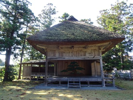 Sado, Japan: Noh theatre at Daizen Shrine