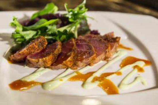 Okeechobee Steak House: Seared Ahi Tuna