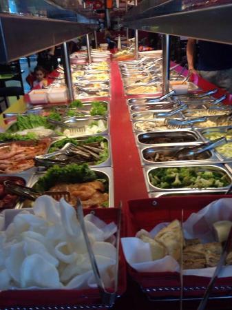 Asian Temple Wok: Buffet libre