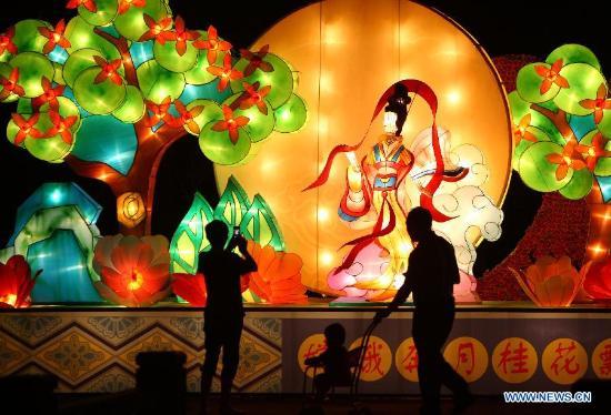 Suoi Tien Theme Park: Moon festival