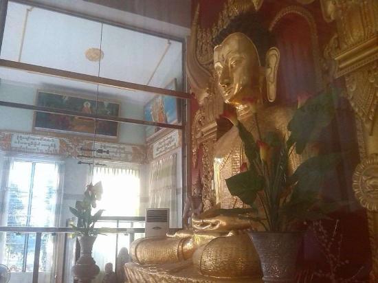 Dha Kya Di Tar Convent: Bamboo Buddha