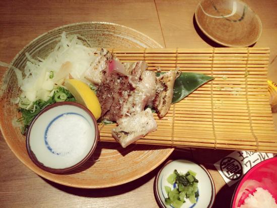 Tosa Shimizu World: ブリの塩タタキ♪