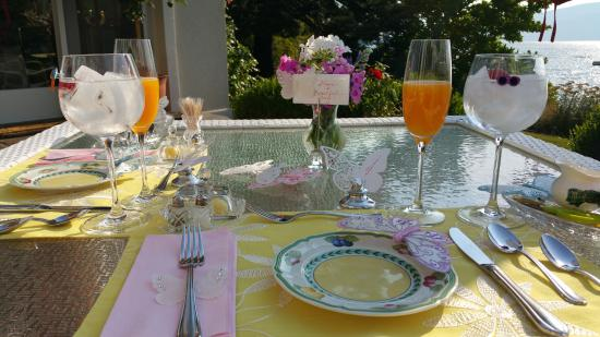 EstateOnTheLakeBandB.com: breakfast was great