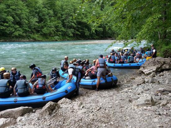 Pluzine, Montenegro: Preparations..