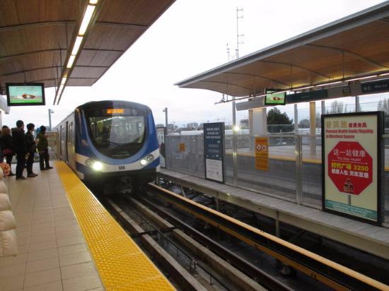 Canada Line: Train