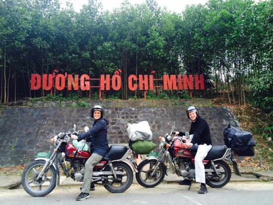 Hue Riders: We had a phantastic 2 days trip with Linh and Ben. Besides the awesome landscape the 2 guys show