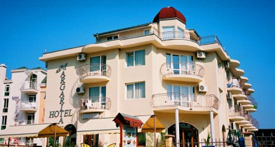 Hotel Margarita: Front