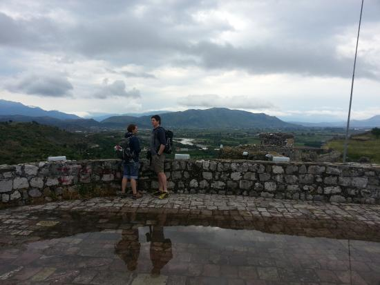 Shkoder, Albania: The view from the castle Rozafa
