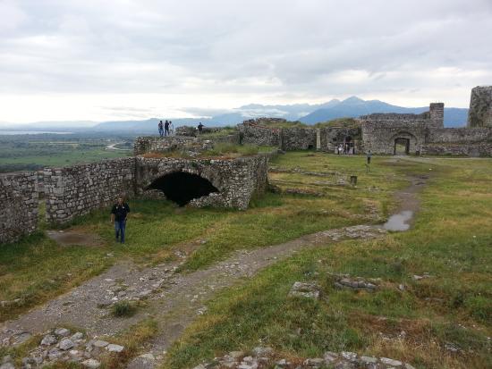 Shkoder, Albania: The castle Rozafa