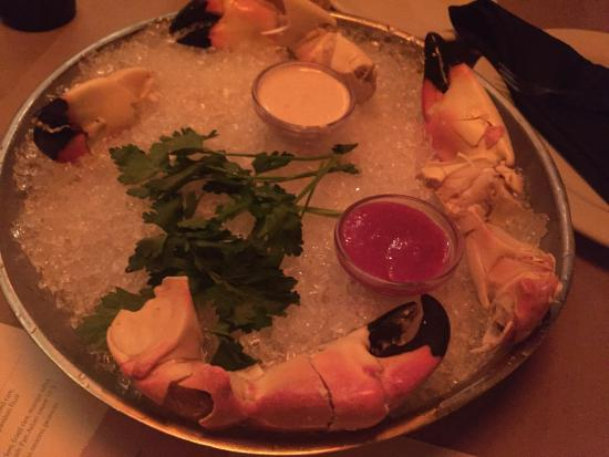 Bonefish Grill: the very last of the 2015-16 season stone crab claws were fantastic
