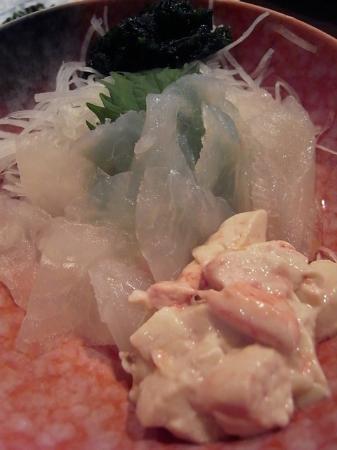 Masuya: カワハギ肝和え