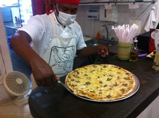 Fiesole Pizzeria: Pollo con champiñones