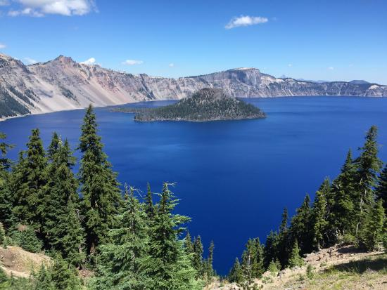 Crater Lake: View of Wizard Island