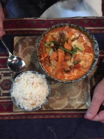 Sofra Turkish Cuisine: Prawn and veg hotpot-delicious!!!