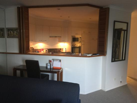 The York by Swiss-Belhotel: kitchen area