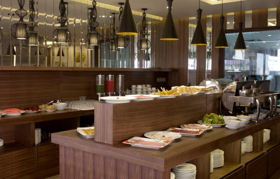 Hadana Boutique Hotel: Breakfast buffet