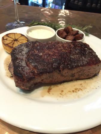 Industry Bar & Grill: USDA Prime Rib Eye Steak