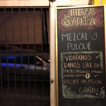 Mezcales y Pulques Hierba Santa: Mezcales y pulques HIERBASANTA