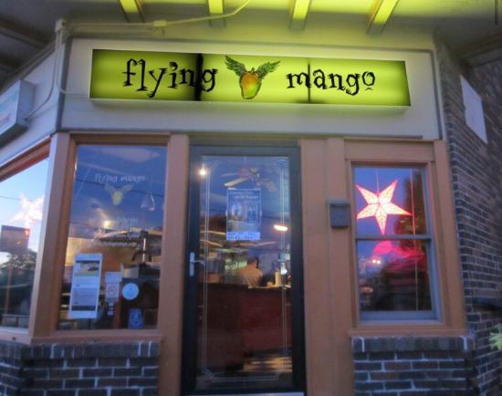 Flying mango des moines