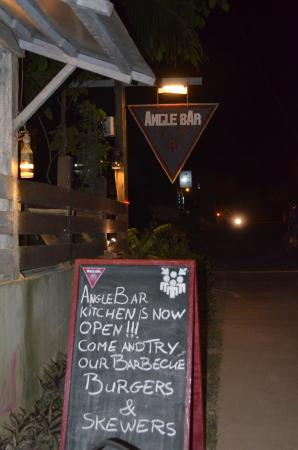 "Angle Bar: ""Love the Burger!!!"""
