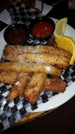Sheridan, WY: Calamari strips..