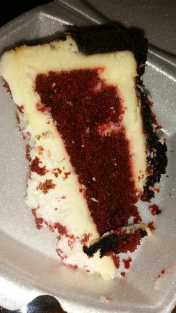 Wyoming Cattle and Creek Company: Red velvet cheescake..